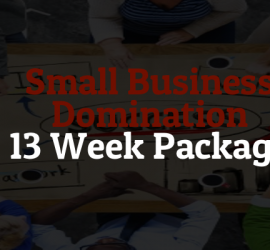 13 Week SB Domination Package Banner